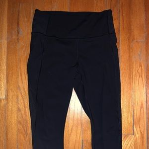 "LULULEMON Crop High-Waisted 23"" Leggings"